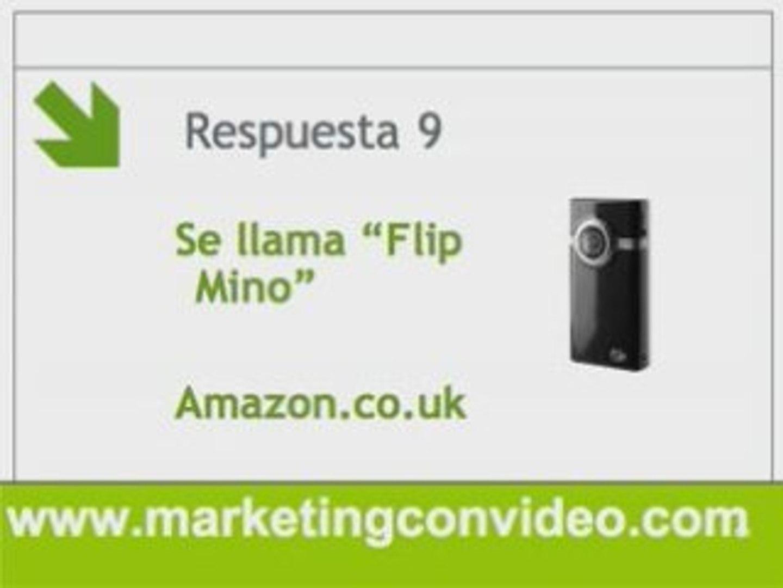 Que camara de video comprar => Flip Camara
