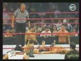 Batista vs Shawn Michaels Match des bûcherons