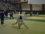 judo et beau combat cours(chui le ptit gars au long cheveux)