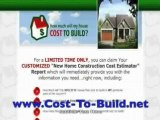 Average Cost To Build A House