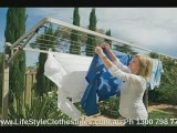 Supa Fold 190 Foldown Clothes Line by Hills Clotheslines