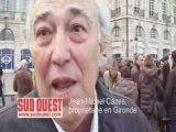 Manifestation viticulteurs - Jean-Michel Cazes
