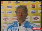 """Gerets """"On recherche un tueur..."""" Nantes 1-1 OM foot ligue1"""