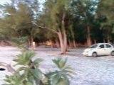 Ile Maurice, coucher de soleil plage publique du Grand Morne