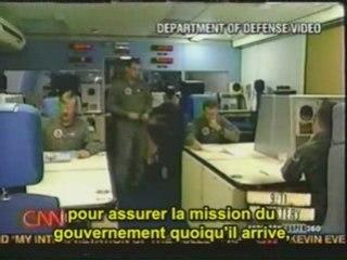 CNN filme l'avion Doomsday le 11 septembre