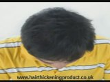hair thickening product