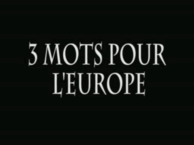 3 MOTS POUR L'EUROPE MASTER.avi