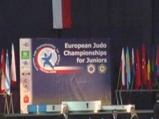 championnat d'europe juniors 2008 a varsovie