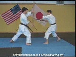 Isshinryu Weapons Training - Bo and Sai
