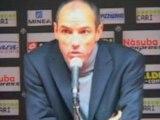 Le Guen « Oui, je suis énervé... » Nice 1-0 PSG Foot L1