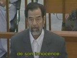 Saddam Hussein - Le Procés De Saddam Hussein FR 1/4