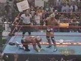Kidman As Referee Hulk Hogan vs Jeff Jarrett 12.6.00