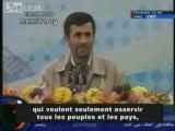 Ahmadinejad au sujet du sionisme