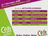 Prud'hommes 2008 - Conseil Mantes la jolie : Candidats CFDT