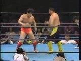 AJPW - Toshiaki Kawada vs. Kenta Kobashi