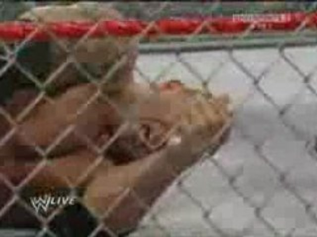 WHC Y2J Vs Batista-Steel Cage Match Part 2
