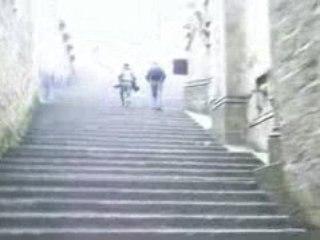 Mont St Michel les marches