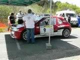 Depart 306 maxi F2000/14 es 4 rallye val d'agout 2008