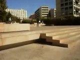 Flip 5 marches a ce spot parfait qu'est la mairie de marseille