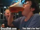 British dude chugs pitcher of beer in 2 seconds