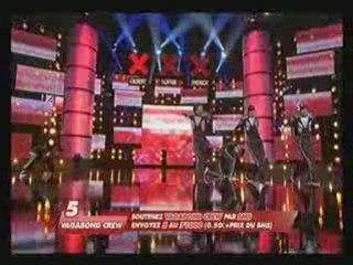 Incroyable Talent Vagabond Crew Demi Final