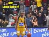 highlights ALM Evreux basket - CSP Limoges