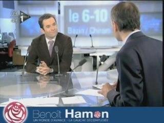 Benoît Hamon réagit au vote des militants