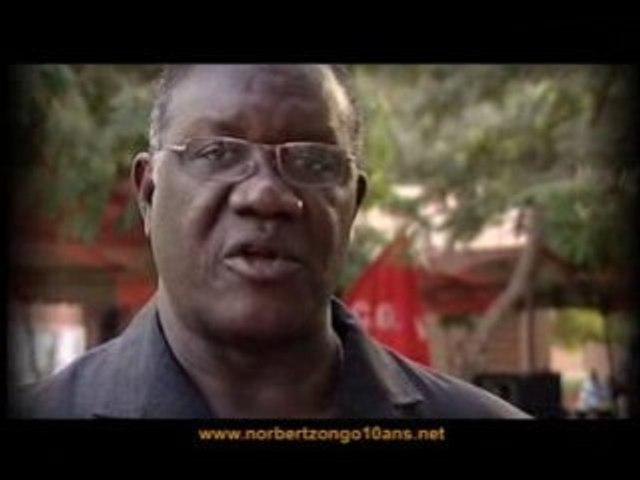 Pétition Norbert Zongo 10 ans - Tolé Sagnon
