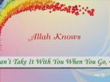 Zain Bhikha - Can't Take It With You (with lyrics)