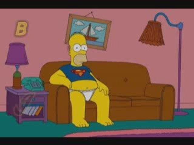Appel virtuel Homer simpson
