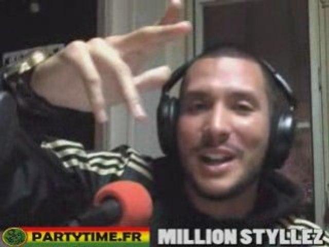 Freestyle Million Stylez at Party Time Radio Show