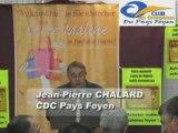 Jean-Pierre CHALARD - Discours Inauguration Carte Maline