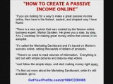 Easy Way to Create a Passive Internet Income - on Autopilot