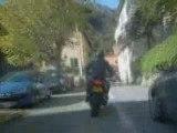 Balade en moto dans la Vallée de la Vésubie