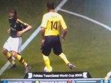 Pes 2009 - Geste technique, drogba avec Thierry Henry