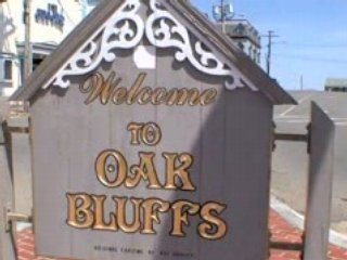 Oak Bluffs, Massachusetts on the island of Martha's Vineyard