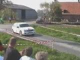 Rallye de la lys 2007 GOMET/DELEBASSEE FCRACINGTEAM ES3