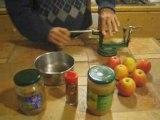 Pâte brisée à l'huile et tarte aux pommes