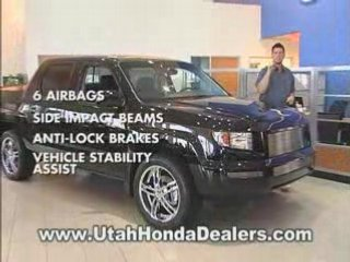 Honda Ridgeline – Your Utah Honda Dealers
