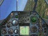 Flight simulator flight demo