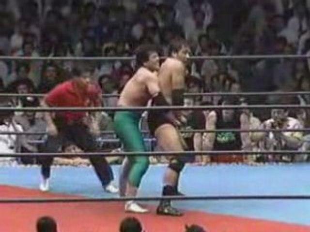Jumbo Tsuruta Vs Mitsuharu Misawa, AJPW, 1990, part 2.