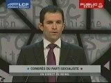 Congrès du PS : profession de foi de Benoit Hamon
