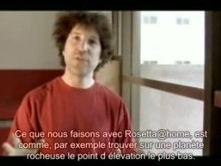 Présentation du projet Rosetta@home (en français)