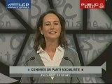 Congrès du PS : profession de foi de Ségolène Royal