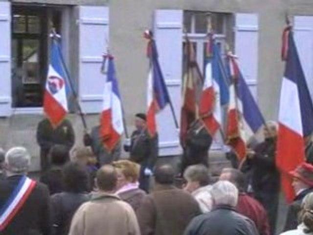 Commémoration, 11 novembre 2008 à ST Estèphe 24360