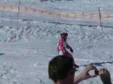 Romane au ski a Orcières 2008
