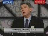 Discours Vincent Peillon au Congrès de Reims le 16 nov 2008