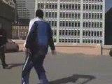 Kobe Bryan Jumps Over A Moving Car(Aston Martin)