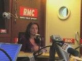 Lynda ASMANI dans les Grandes Gueules - RMC : N. SARKOZY