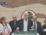 Dr geagea about the lebanese detained in syria